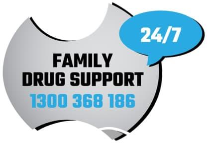 Family Drug Support Logo